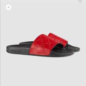 Gucci Signature Slide Sandal